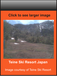 Teine Ski Resort Japan  Image courtesy of Teine Ski Resort    Click to see larger image